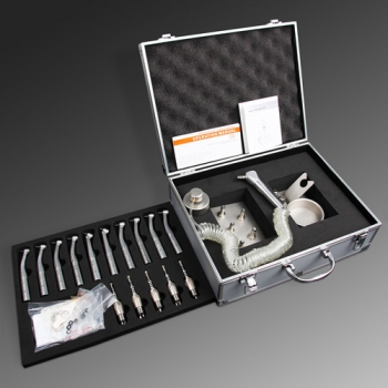 Dental High Speed Turbine Handpiece Fiber Optic Kit with Lubrication Tool