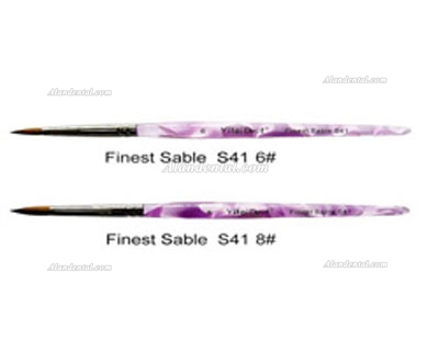 Dental S41 Finest Sable Ceramic Purple Pen