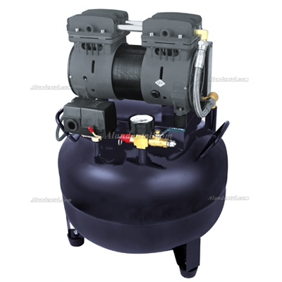 YUSENDENT® Dental Air Compressor Motors Turbine Unit CX236-2 One Drive One 550W Black