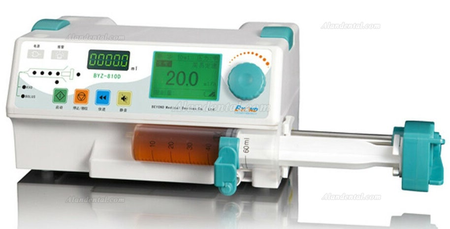 Byond Single Channel Syringe Pump with LCD Display and Visual Alarm BYZ-810D