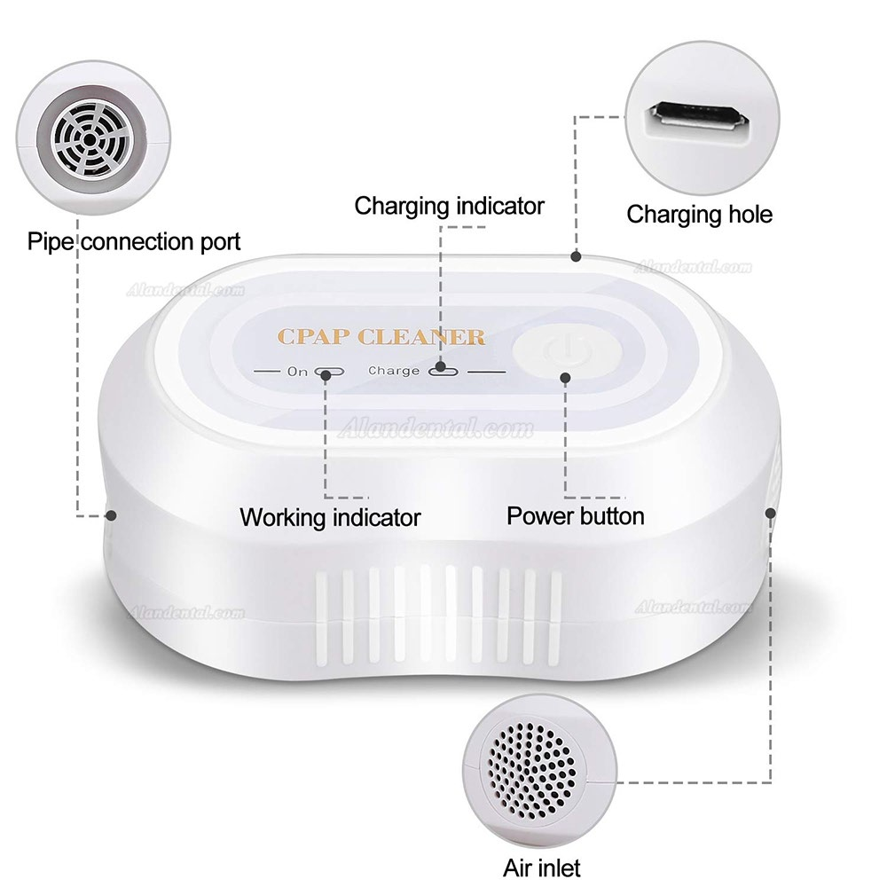 CPAP Cleaner & Sanitizer, CPAP Cleaning Supplies - Portable Mini CPAP Cleaner Disinfector