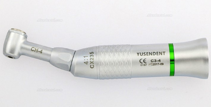 YUSENDENT® Low Speed Reduction 4:1 Contra Angle Handpiece CX235C3-4