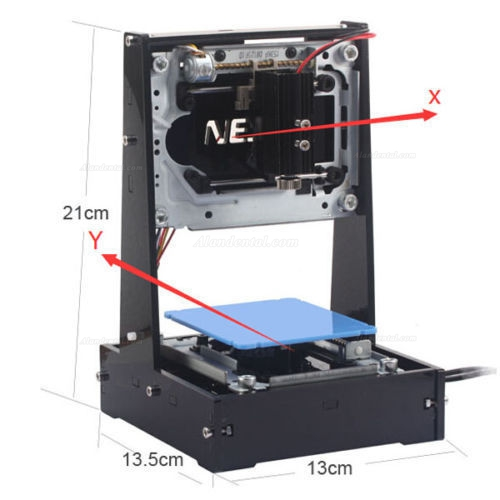 NEJE® DK-6-Pro-5 500mW Laser Printer Engraver Cutter Laser Engraving Machine
