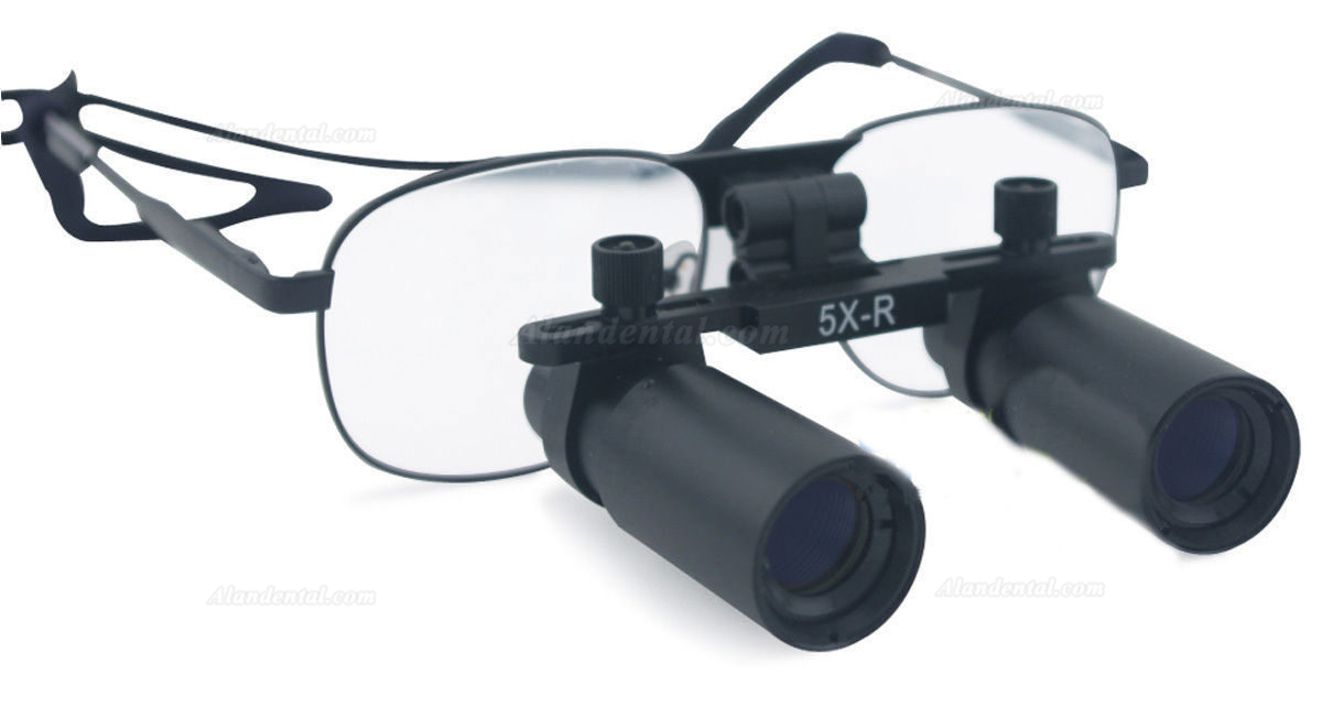 Ymarda 5.0X 420mm Dental Binocular Loupes Medical Loupes Dentist Magnifier Metal Frame