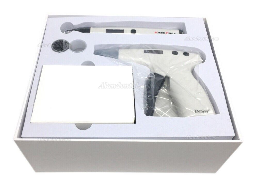 Denjoy FREE-Fill Dental Cordless Gutta Percha Obturation Endodonotic System Kit