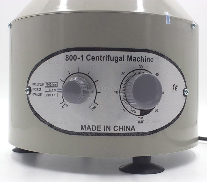 110V/220V Medical Low speed Electric Centrifuge Machine 4000rpm With 6 Tube