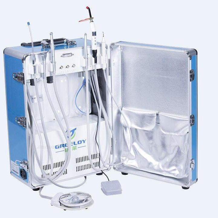 Buy Cheap Greeloy 174 Gu P206 Portable Dental Unit With Air