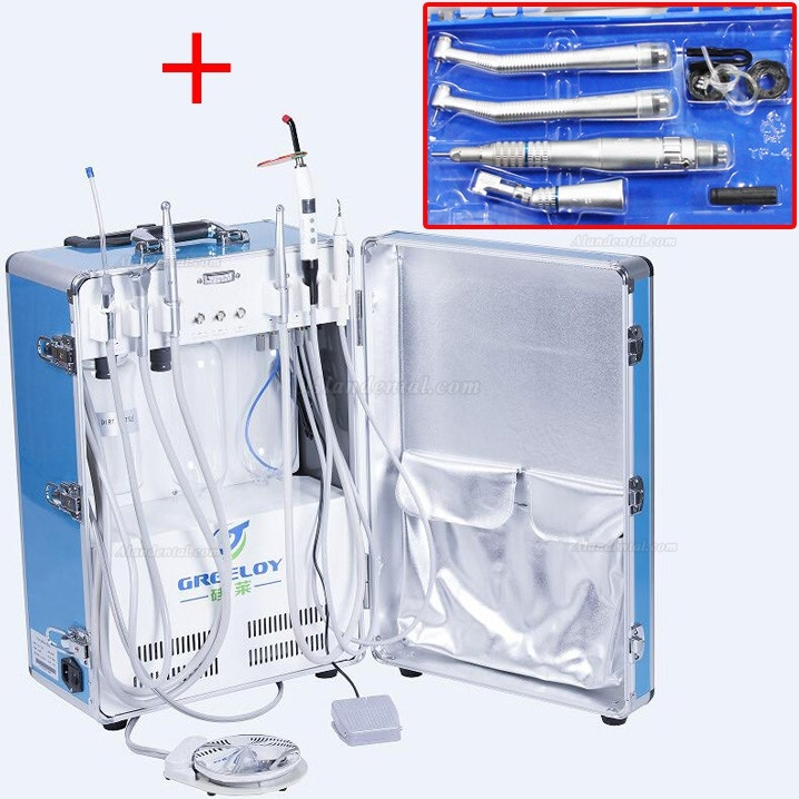 Greeloy® GU-P206 Portable Unit + NSK Handpiece Unit