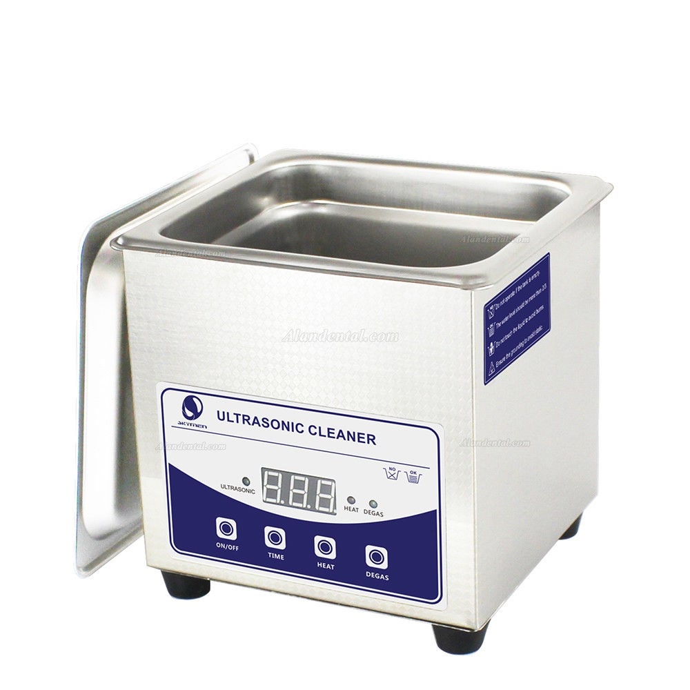 Stainless Steel 1.3L Liter Industry Heated Ultrasonic Cleaner Heater Timer