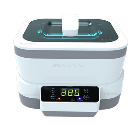 Delis® JP-1200 1.2L Digital Detachable Ultrasonic Cleaner Digital Water Bath