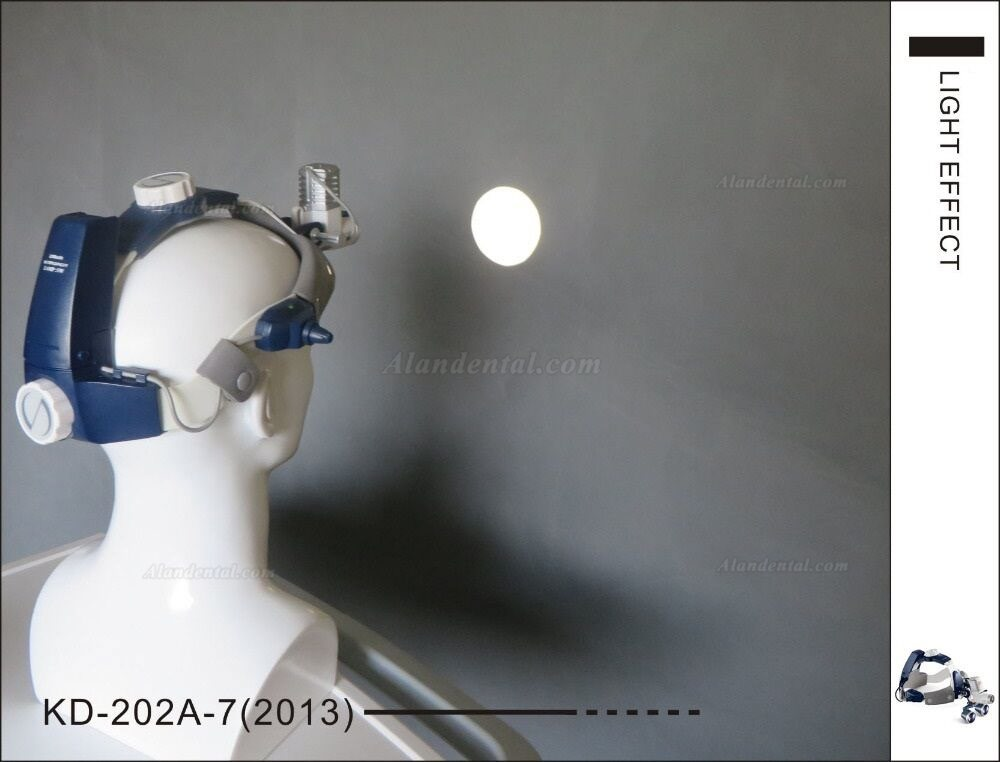 5W Dental Surgical Medical LED Head Light KD-202A-7New Headband Type