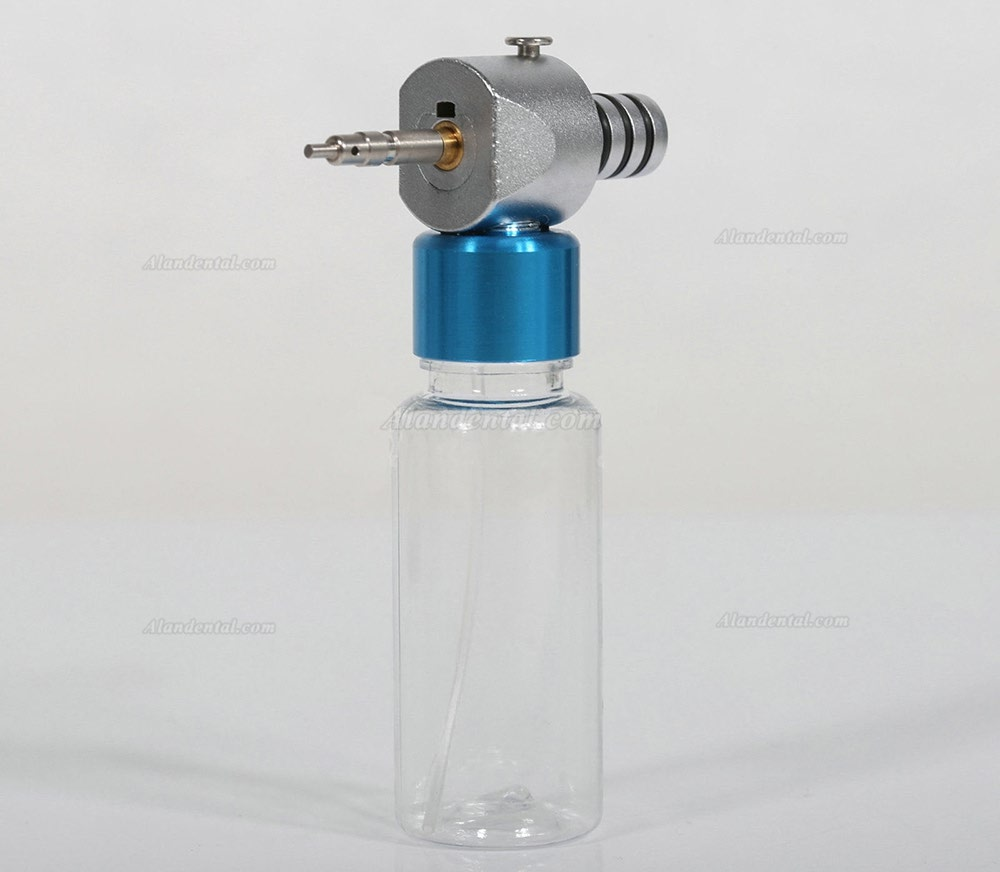 Dental Low Speed Handpiece Cleaning Lubrication Cleaner Oiling Press Air Button