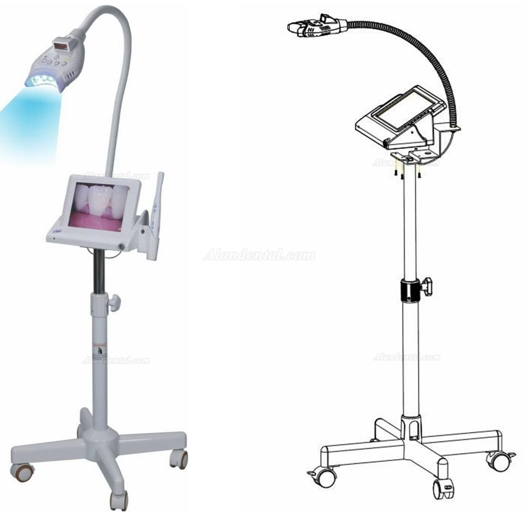 8 inch LCD Monitor Teeth Whitening + Intraoral Camera M-86 Trolley-type With SD Card