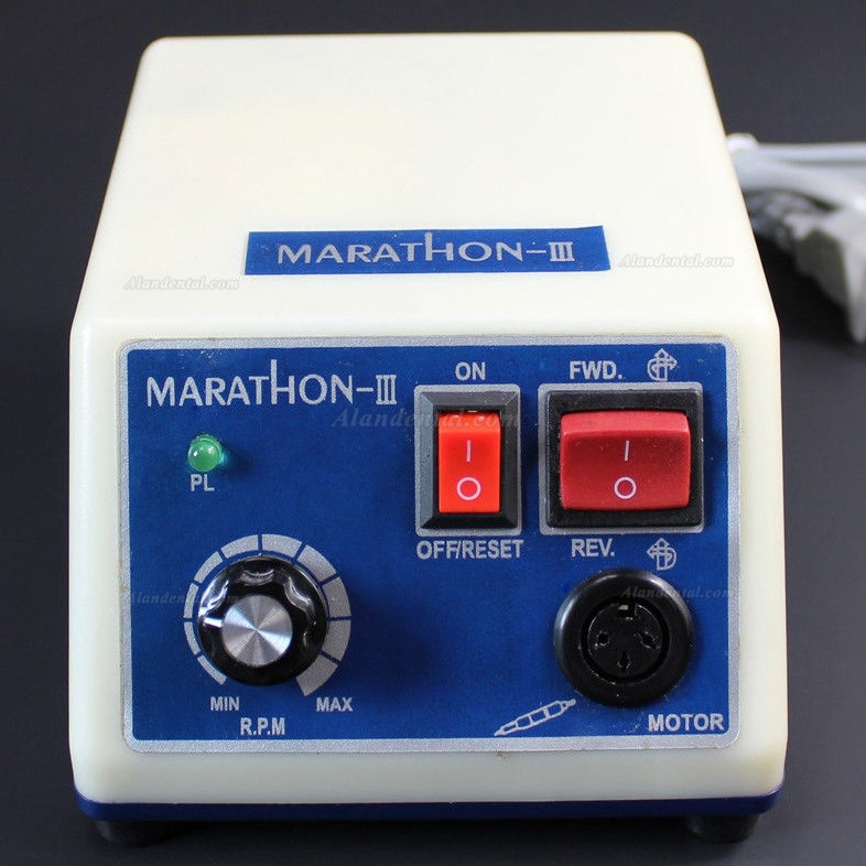 Dental Lab Electric Motor Micromotor Handpiece N3 Polishing Polisher Marathon