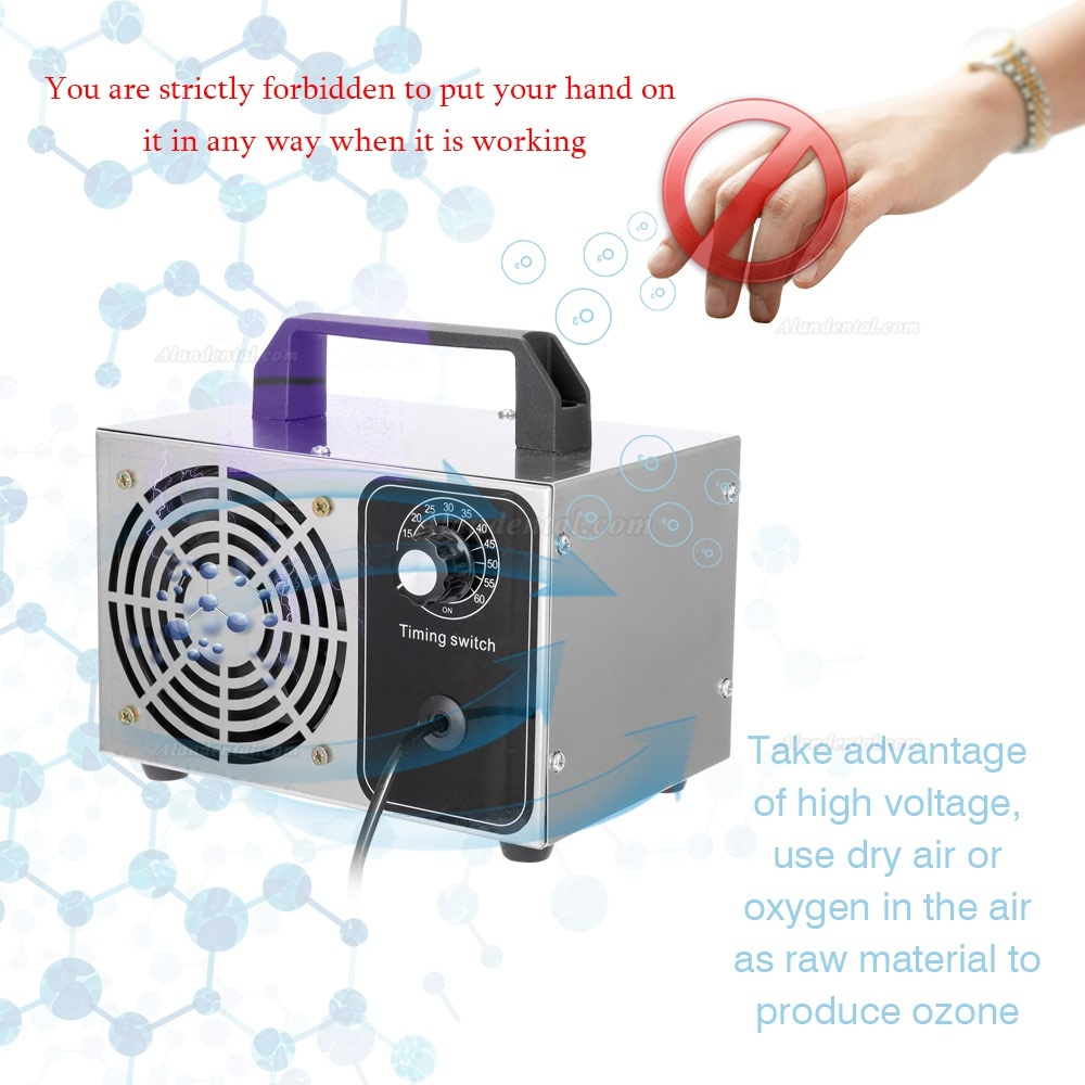 28g/h Ozone Generator Ozone Machine Purifier Air Cleaner Disinfection Clean