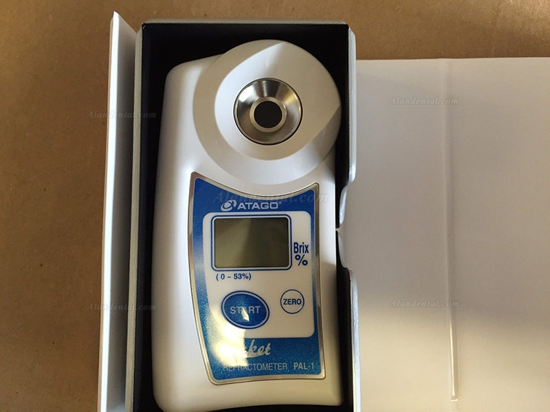 Atago® PAL-1 Refractometer Brix 0-53% Digital Hand Held