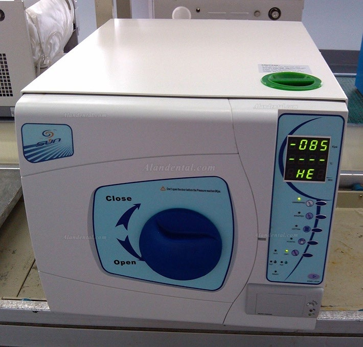 Sun® SUN-II-D 18L Dental Autoclave Sterilizer Vacuum Steam