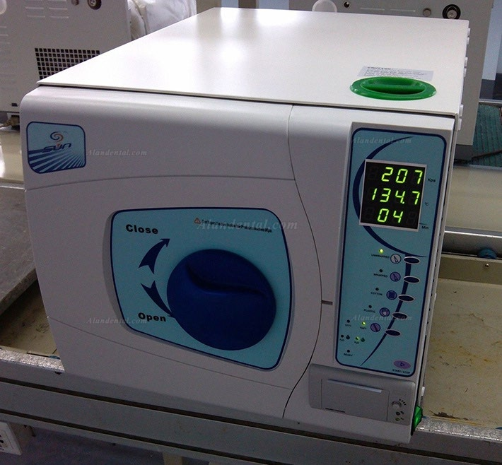 Sun® SUN-II-D 16L Dental Autoclave Sterilizer Vacuum Steam