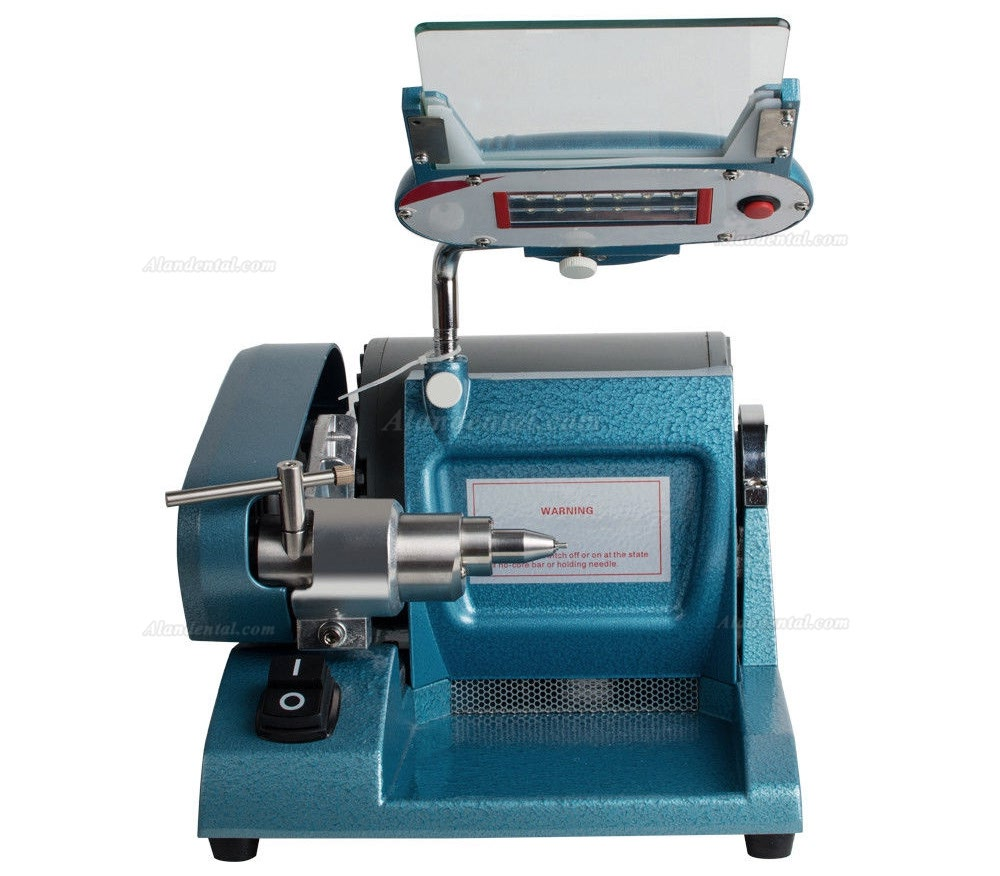 Dental Lab High Speed Alloy Grinder Cutting Polishing Lathe Machine Low Noise CE