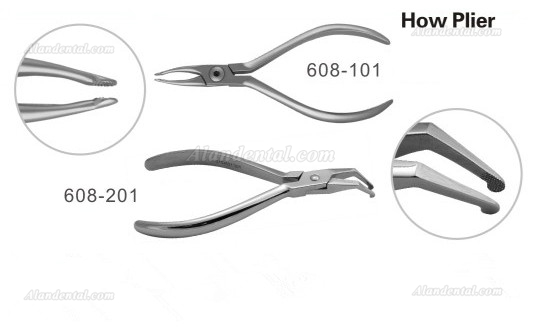 Orthodontic Forceps Dental How Plier 608-101