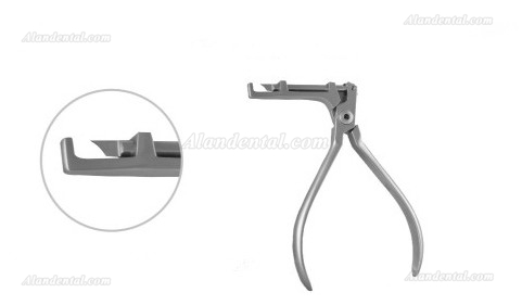 Orthodontic Plier Dental Buccal Tube Convertible Cap Removing Plier 618-101