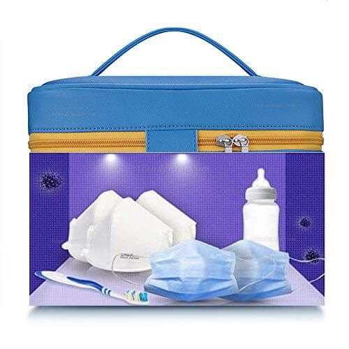 Portable UV Sterilizer Bags USB LED UVC Disinfection Bags for Bottle/Underwear