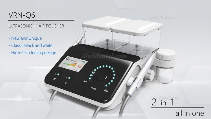 Vrn Q6 Dental No-pain Ultrasonic Scaler + Air Polisher