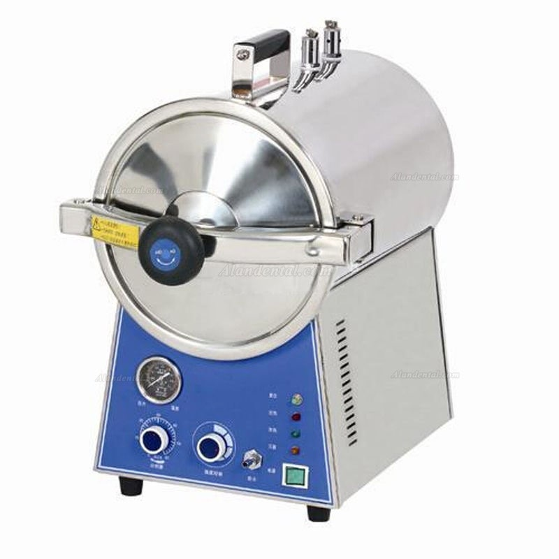 J® 24L Table Top Pressure Steam Sterilizer Dental Autoclave